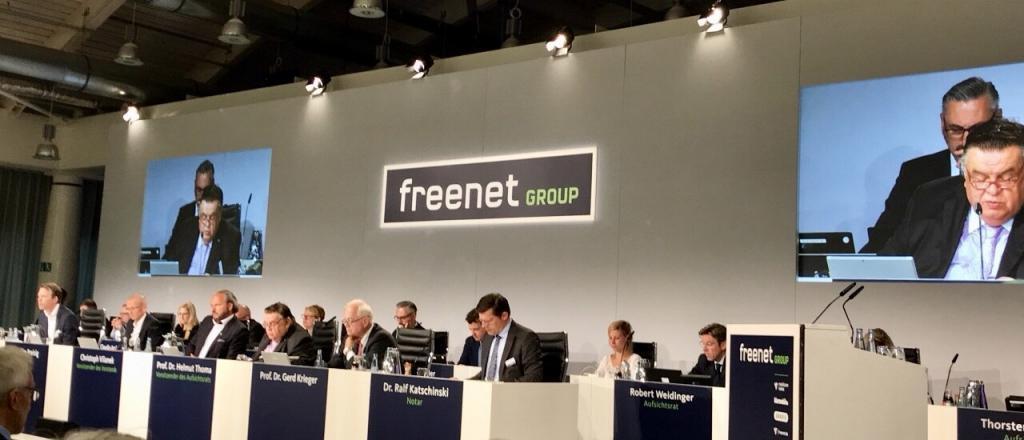 Freenet Hauptversammlung 2021